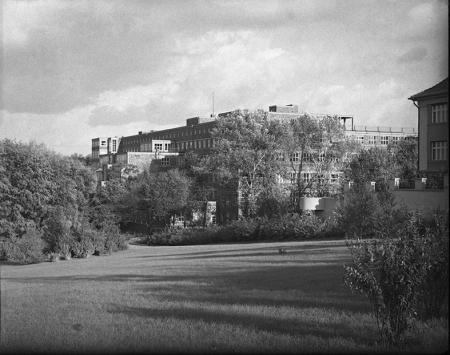W 1930 roku na skraju Parku Kasprowicza wzniesiono nowoczesną klinikę dla kobiet. (MNS/A.Foto/5564)